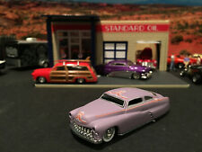 1:64 Hot Wheels Limited Edition 49 Merc Mercury Lead Sled Satin Purple Legends