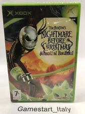 NIGHTMARE BEFORE CHRISTMAS - XBOX - VIDEOGIOCO NUOVO NEW PAL VERSION TIM BURTON