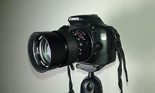 obiettivo VIVITAR 135mm f 2.8 + 3 filtri APINAR. Compatibile con CANON EOS