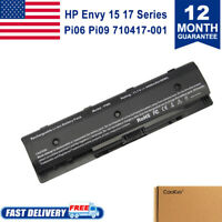 PI06 Battery for HP envy 15 17 Touchsmart M7-J010DX hstnn-yb40 710417-001