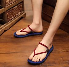 Fashion Mens Beach Shoes Flip Flops Leisure Slippers Sandals Flats Casual A2493