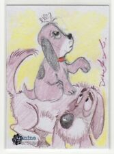 2018 5finity The Canine Persuasion Dean Yeagle & Lilia Costantino Sketch Card #2