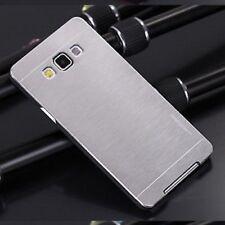 Coque Etui Housse Aluminium ARGENT Samsung Galaxy J3 2016