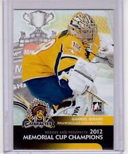 Chris Hodgson Hockey Card 2001-02 Shawinigan Cataractes #13 Chris Hodgson