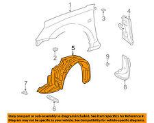TOYOTA OEM 00-03 MR2 Spyder-Front Fender Liner Splash Shield Left 5380617020