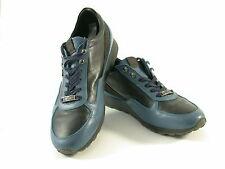 Galliano Schuhe Freizeitschuhe Schwarz- Blau Neuwertig Größe 44 /16