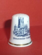 GLOUCESTER CATHEDRAL Thimble Church of St Peter nr River Severn by Norfolk China
