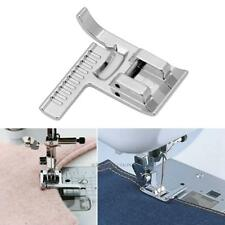 Metal Presser Feet For Brother Singer Janome Domestic Sewing Machine w/ Ruler