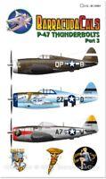 Barracuda 1/32 Republic P-47D Thunderbolt Part 3 # 32003