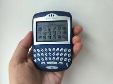 RARE BlackBerry 7230-Blu Smartphone Sbloccato Telefono QWERTY oggetto da collezione