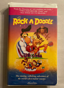 Rock-A-Doodle (VHS, 1999, Clamshell Case)