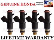 4X Genuine Honda Fuel Injectors For 06-15 Civic 1.8L And 06-11 Honda Fit 1.5L