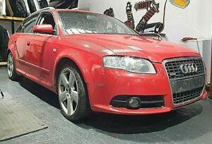 04-09 AUDI A4 B7 SLINE AVANT ESTATE 2.0 TDI AUTO RED LY3J WHEEL NUT BREAKING*