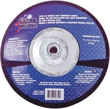 12761 9In by 0.25In by 5/8-11 Hubbed Koolie Hat Grinding Wheel with Type 28