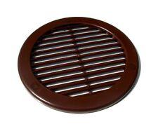 marron cercle grille ventilateur 12.7cm/125mm Rond conduit Couvercle de tru16br