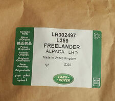 LAND ROVER FREELANDER 2: Alpaca Set Tappeti da Beige Lhd-LR002497