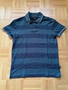 Hugo Boss Polo-Shirt Gr. S Neu Blau Regular Fit