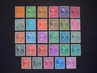 """#803 - #831 1c thru $.50 1938 Presidential Issues MNH OG VF """"Set of 29"""" #1"""