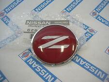 DATSUN Fairlady 300ZX Bonnet Hood TOP RED Emblem Badge Genuine (Fits NIssan Z32)