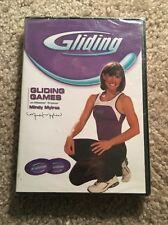GLIDING GAMES EXERCISE DVD NEW MINDY MYLREA SEALED WORKOUT FITNESS SLIDING