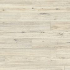 £9.99m2  8mm x 140mm Laminate Flooring White Washed Oak