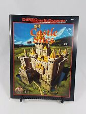 CASTLE SITES Dungeon Master's Guide AD&D D&D Dungeons Dragons TSR 9479 EUC