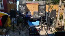 More details for disco unit set. lights, mixer, amplifier!