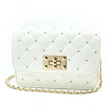 H161017-60A BAE Quilted Micro Studded Crossbody Bag