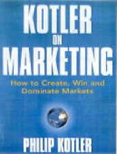 Good, Kotler On Marketing, Kotler, Philip, Book