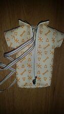 Handy-Tasche, Herrenhemd-Form, sehr edles Design, beige- braun