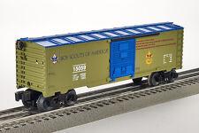 Lot 4168 Lionel sécurisées wagons Boy Scouts of America (Freight Car), piste 0