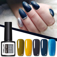 8ml  LEMOOC Nagel Gellack Soak off Klassisch Blau Gel Polish Gel UV Nagellack