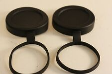 NIKON  Tethered Objective Lens Covers..... Set of 2.... fits 10x42 and 8x42
