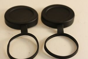 Tethered Objective Lens Covers...SWAROVSKI.. Set of 2.... fits 10x42 and 8x42