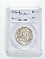 MS63 1921 Missouri Centennial Commemorative Half Dollar - Graded PCGS *0618