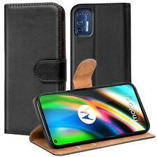 Etui Coque Pour Motorola Moto G9 Plus Téléphone Portable Pliage Housse Book Flip