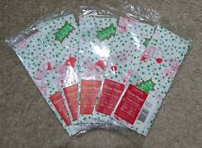 Lot (5) Rugrats Christmas/Holiday Gift Tissue Paper/Wrap-White/Green-25 Sheets