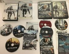 Crysis Warhead Crysis 2 Limited Edition (PC, 2011) 3 Game Set