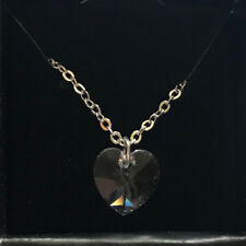 heart necklace crystalized swarovski elements