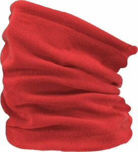 2020 NEW BARTS POLAR FLEECE NECK WARMERS WEAR UNI RED ADULT COL INFINITY SCARF