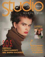Italia Studio Hair Fashion #52 1991 Fashion Coiffure 072519AME