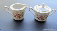 ASIAN SONG by NORITAKE ~ Creamer & Lidded Sugar Bowl Set