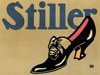 STILLER SHOE GERMANY VINTAGE ADVERTISING POSTER RETRO WALL ART PRINT 1512PYLV