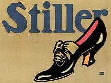 Stiller Scarpa Germania vintage advertising poster retrò Wall Art Print 1512pylv