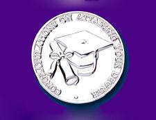 Silver Graduation Coin Keepsake Solid Hallmarked Sterling Silver University