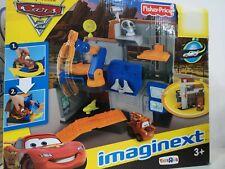 Disney Pixar Fisher price Garage cricchetto cars 2 playset Imaginext W8580