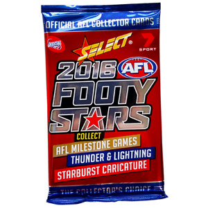 AFL Footy Stars 2016 Loose Packet