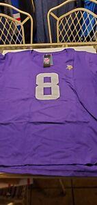 Minnesota Vikings Kirk Cousins Women's  NFL Proline Team Apparel  shirt  3XL S/S