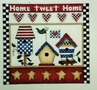 Jeanette Crews Designs counted cross stitch kit bird houses Home Tweet Home