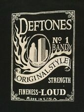 Vintage Deftones Album Tour Black T-shirt Unisex All Size Reprint M1143